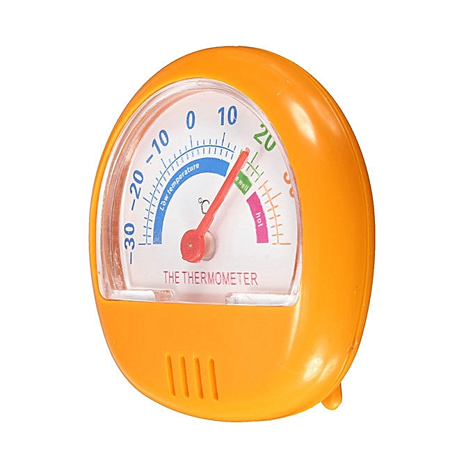 Other Fridge Thermometer Refrigerator Freezer Indoor Outdoor Home Factory Thermograph Orange MQSHOP à prix pas cher