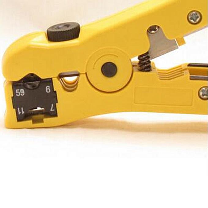 Autre Twister Cable Stripper Pliers Network Tool Coaxial ABS 8P6P4P Handle Crimpers Home Tool à prix pas cher