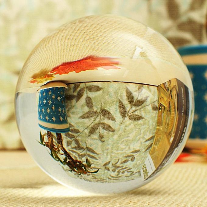 UNIVERSAL Clear Asian Rare Natural Round Quartz Magic Crystal Ball Healing Sphere 100mm à prix pas cher