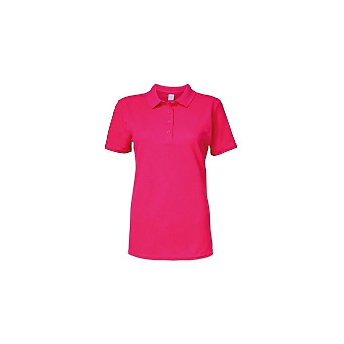 6e4a335760df0 Generic Polos Simple Couleur Uni - Rose à prix pas cher | Jumia Maroc