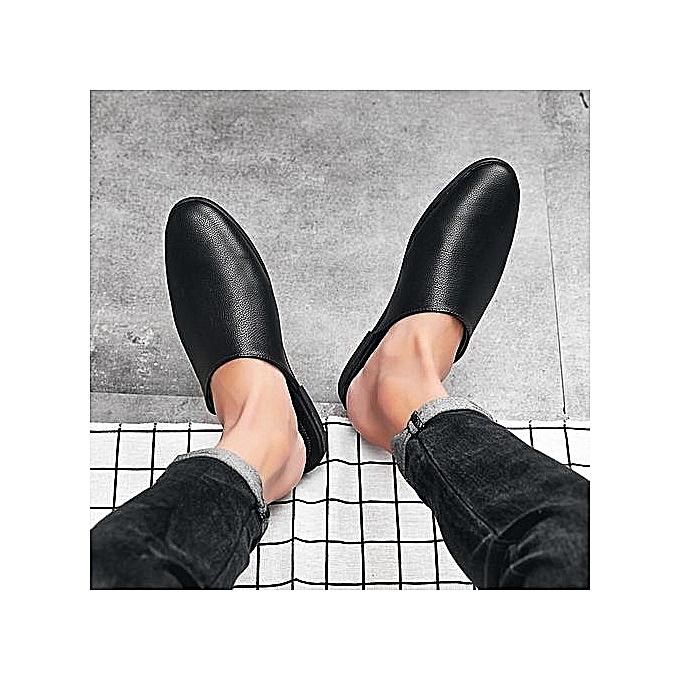 Fashion New Sandals Summer Men Beach Korean Casual chaussures—balck à prix pas cher    Jumia Maroc