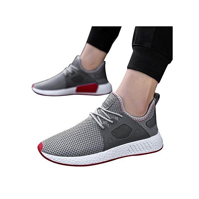 mode Hiamok_Hommes mode Solid Cross cravated Décontracté chaussures Gym chaussures FonctionneHommest chaussures à prix pas cher