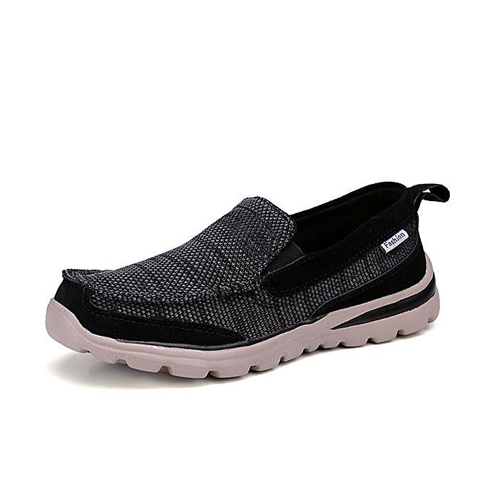 Fashion Men Slip On Breathable Mesh Soft Sole Flats Casual baskets à prix pas cher