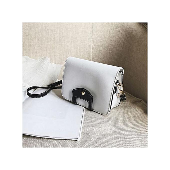 Duoya femmes Messenger Bag Clutch Bags Good Shoulder Bag Handbags Crossbody Bags WH-blanc à prix pas cher