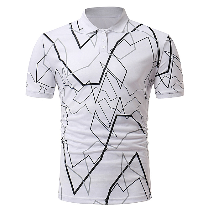 Fashion Men Plus Taille Christmas Printing Tees Shirt Long Sleeve T Shirt Blouse YE S -jaune à prix pas cher