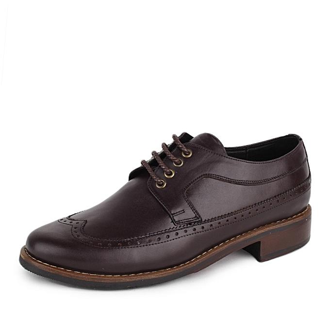 c97b749dafe Harveston Chaussures Classe Richelieu-Marron à prix pas cher