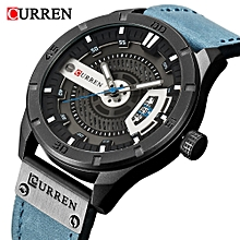 212aa27d7 CURREN Top Luxury Brand Watch Famous Fashion Sports Men Quartz Watches Mens  Trend Wristwatch Gift For Male CR8301-01