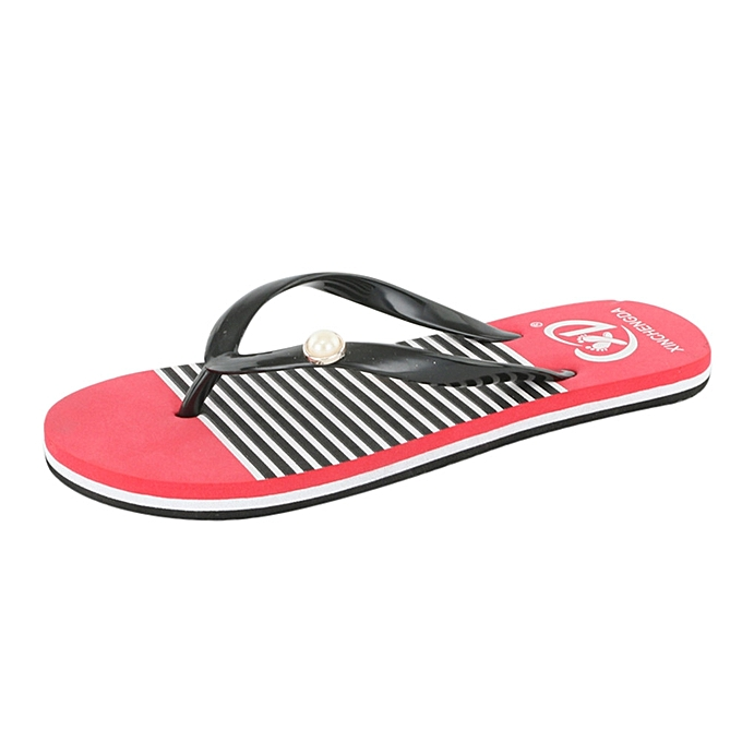 Fashion femmes Summer Sandals Slippers Leisure Soft Flip Flops Beach Slipper à prix pas cher