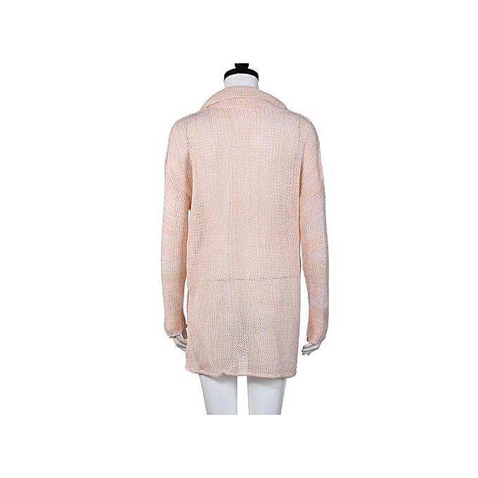 mode Hiamok femmes Loose manche longue Fall Winter OverTaille chandail Jumper Shirt hauts PK M à prix pas cher