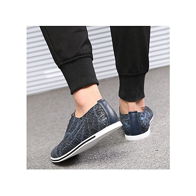 Fashion Big Size 38-50  s New Office Office Office Work Back To School Slip On Twin Gusset Smart Dress Formal Shoes-Blue à prix pas cher  | Black Friday 2018 | Jumia Maroc 92705f