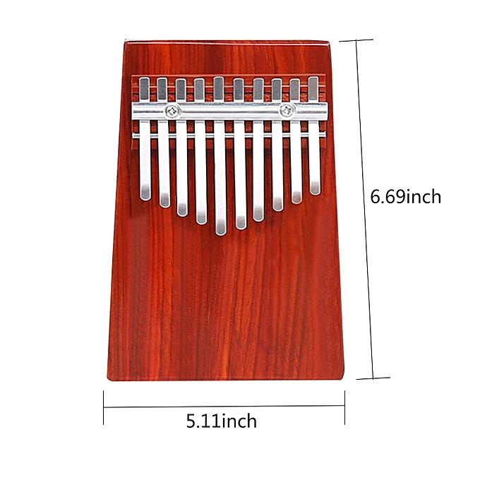 OEM Kalimba Thumb Piano 10 Keys Made of Mahogany Solid wood, FREE Lettering à prix pas cher