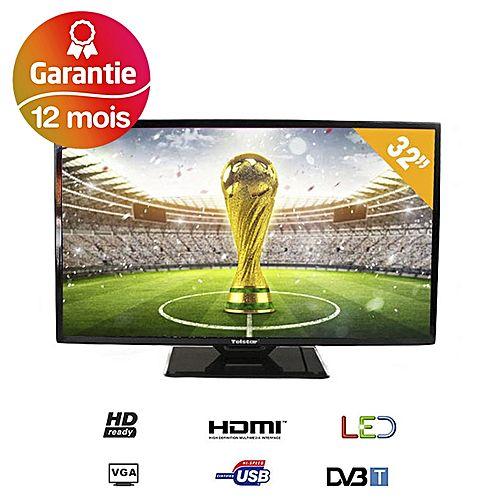 32 tv led hd ready slim tnt int gr noir tvs led jumia maroc - Tv tnt integre ...