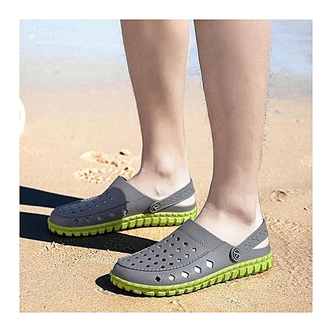 Fashion Fashion Men Adjustable Heel Strap Light Weight Beach Water chaussures Sandals-EU à prix pas cher    Jumia Maroc