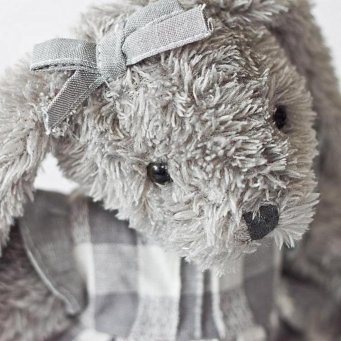 OEM Dabron commerce extérieur poupée peluche sarong jupe lapin nouvelle poupée   jupe à voiturereaux gris à prix pas cher