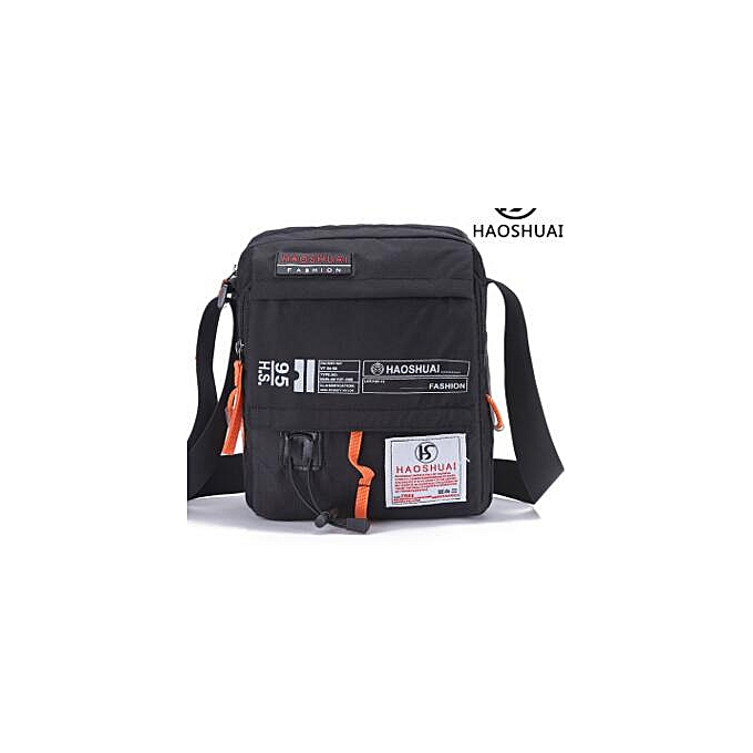 Other New men diagonal package shoulder bag  and leisure bag(noir) à prix pas cher