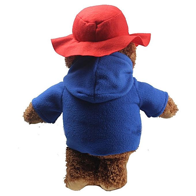 Autre nouveau Arrival Cute Teddy Bear Plush Toys Movie voituretoon Ted Bear with rouge Hat Dolls Enfants Friends Birthday Gift 35cm à prix pas cher