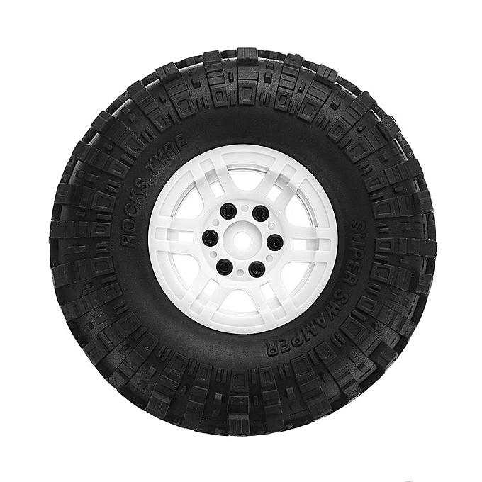 OEM 4Pcs AUSTAR AX-4020 1.9 Inch 110mm RC voiture Tires With Hub For 1 10 D90 SCX10 CC01 RC voiture Crawler [4020D] à prix pas cher
