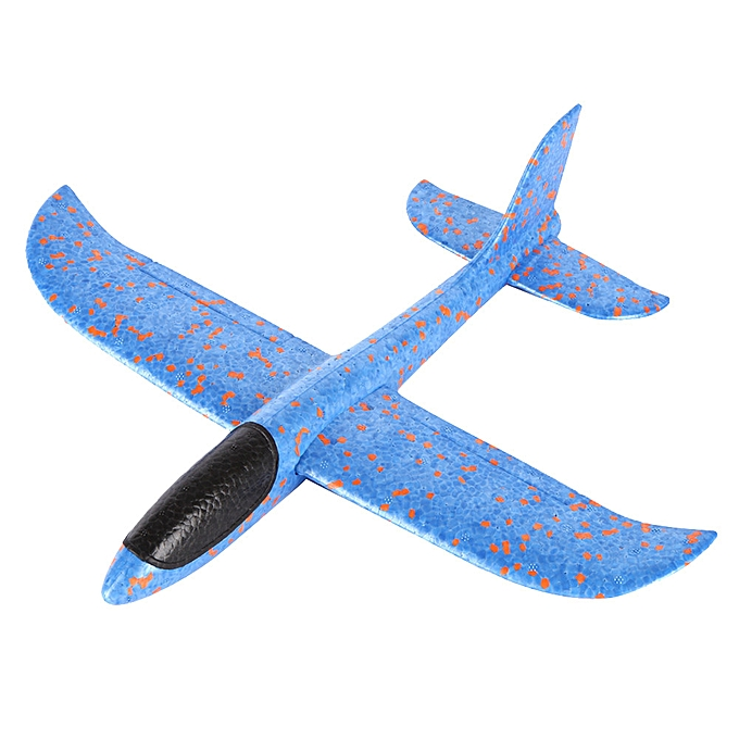 OEM Foam Throwing Glider Airplane Inertia  Toy Hand Launch Airplane Model à prix pas cher