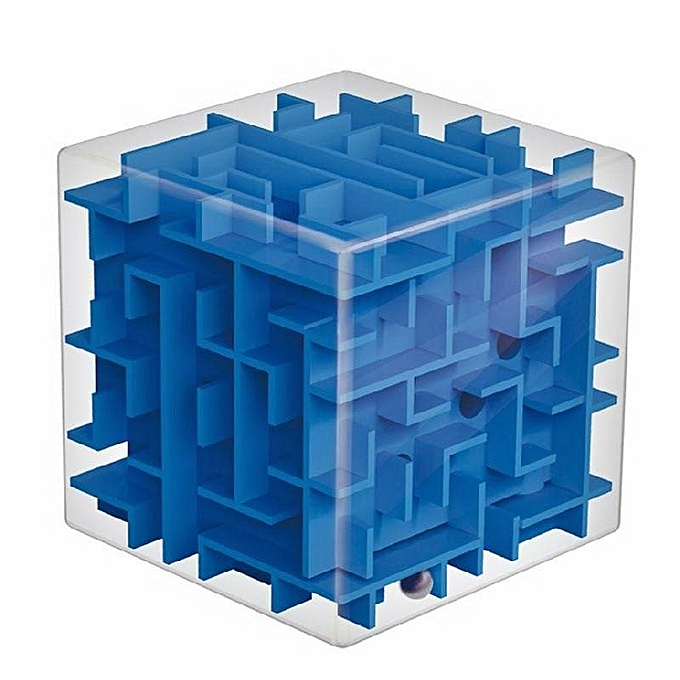 UNIVERSAL Magic Cube Maze Labyrinth Rolling Ball Balance Brain Teaser Toy à prix pas cher