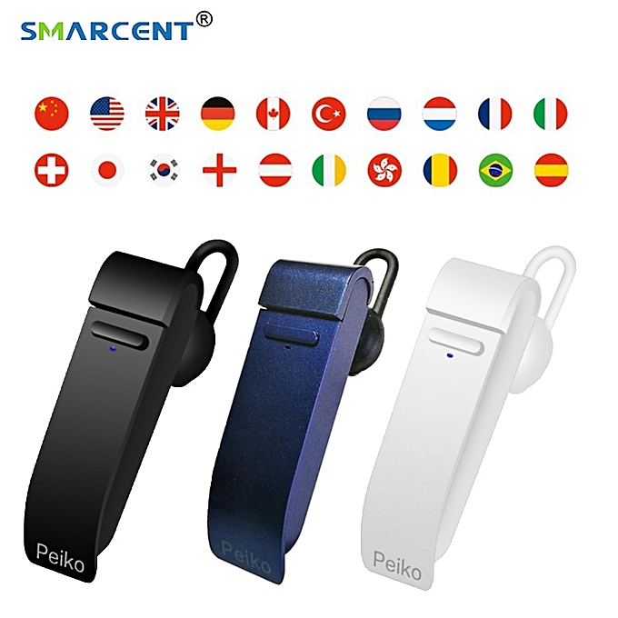 Other New Intelligent Multi-Language instant speech translator voice with   earphone traductor simultaneo for Meeting WOEDA à prix pas cher