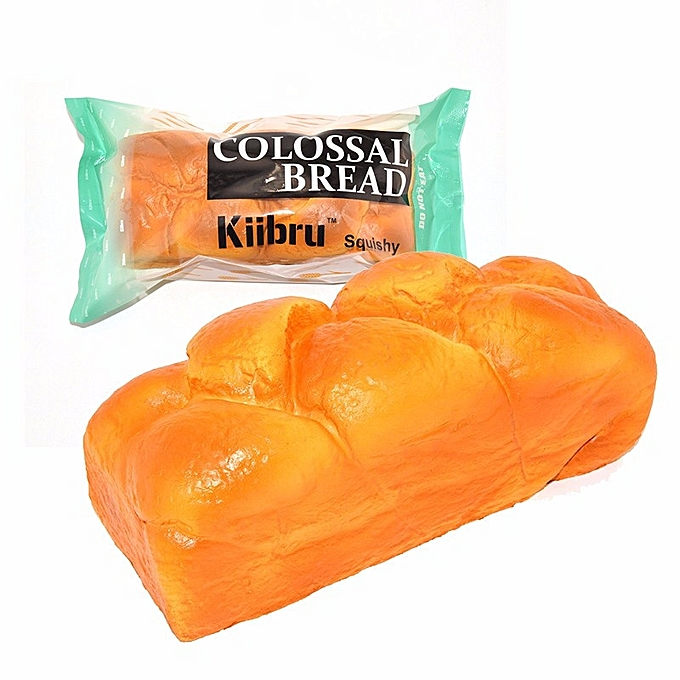UNIVERSAL Kiibru Squishy Colossal Bread Licensed Super Slow Rising 208.59cm Creative Fun Christmas Gift- à prix pas cher