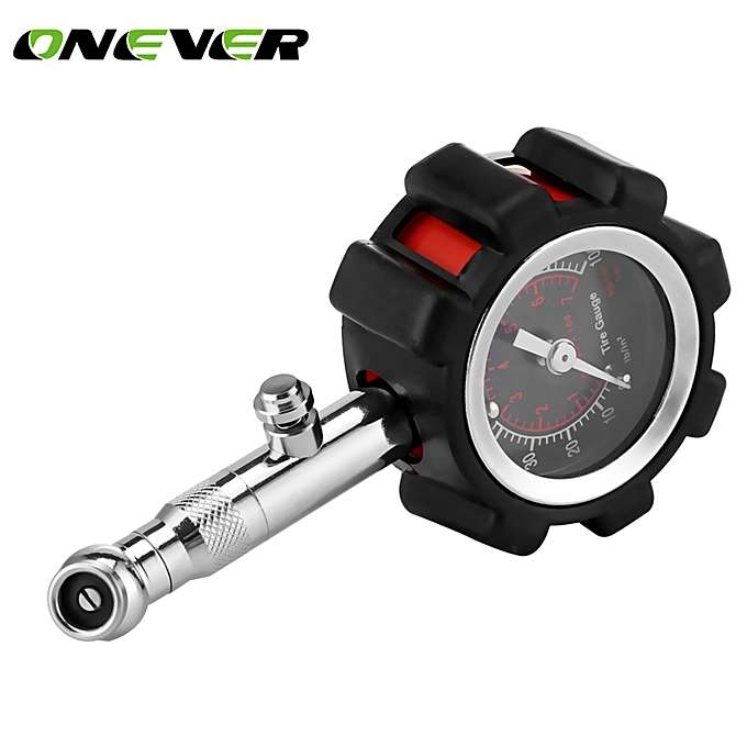 Other Tire Pressure Gauge Tyre Air Gauges Table Tester Meter Bar 0-100 PSI for Truck Auto Vehicle Car Tester monitoring system JOHN à prix pas cher