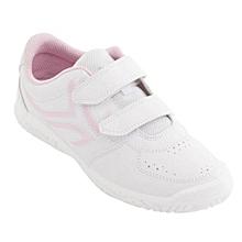 229c9ade847e9 CHAUSSURES DE TENNIS ENFANT TS100 GRIP BLANC ROSE ARTENGO