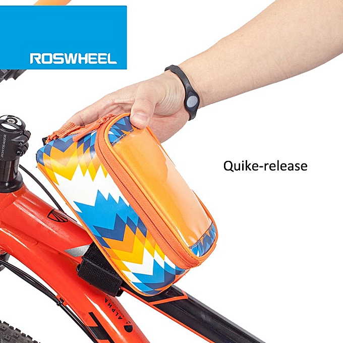 Other ROSWHEEL Wings Series Bicycle Smart Phone Bag Phone Case Bicycle Top Tube Phone Bag Holder à prix pas cher