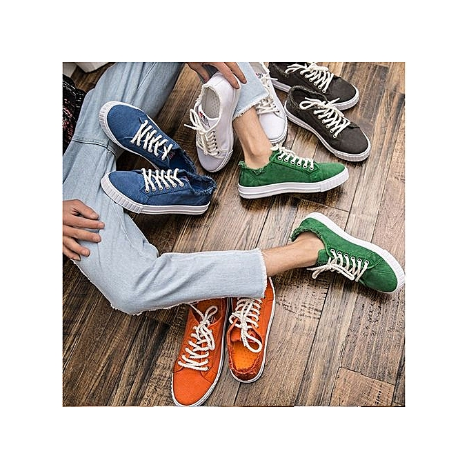 OEM Summer New Style Couples Canvas Shoes Couples Style MoHommes   's Casual Skate Shoes-05 à prix pas cher    Black Friday 2018   Jumia Maroc 090140