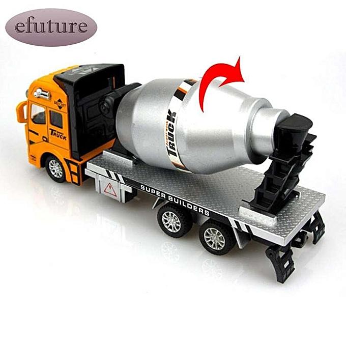 OEM efuture Mini voiture Alloy Wheel voiture Model Construction Tools Engineebague Vehicle Truck à prix pas cher