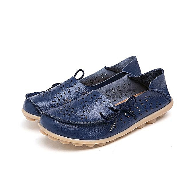 Fashion SOCOFY Big Taille femmes Casual Lace Up Loafers Breathable Floral Hollow Out Comfy chaussures à prix pas cher    Jumia Maroc