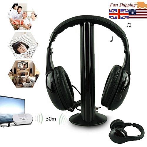 Générique High Quality 5in1 Wireless Headphone Casque Audio Sans Fil