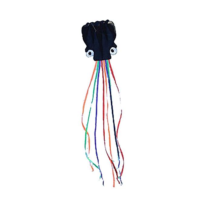 UNIVERSAL 4m Octopus Soft en volant Kite with 200m Line Kite Reel 6 Couleurs -bleu à prix pas cher