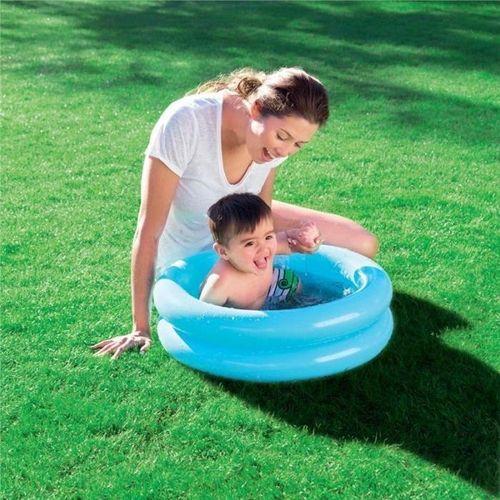 Bestway bestway piscine gonflable enfants 2 boudins for Piscine gonflable 2 boudins