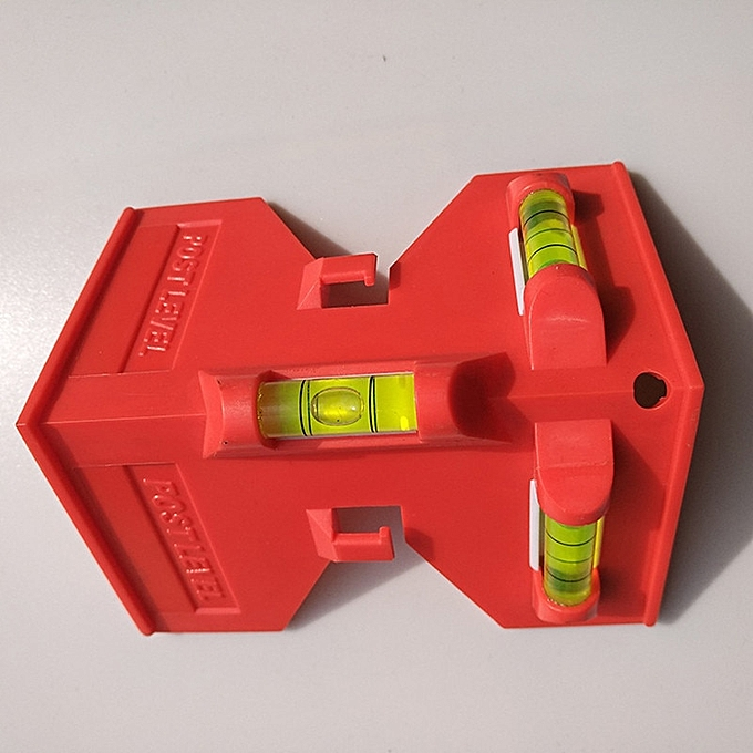 Autre Foldable Cylinder Magnetic Level High-Precision Pipeline Mini Spirit Level for Pipe Wooden pillars insTailletion-1 à prix pas cher