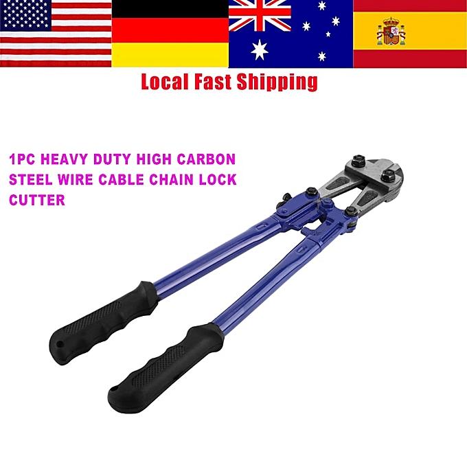 Autre 1Pcs Heavy Duty Bolt Cutter High Carbon Steel Cropper For Wire Cable Chain Lock Bolt Tool High Quality Best Price à prix pas cher