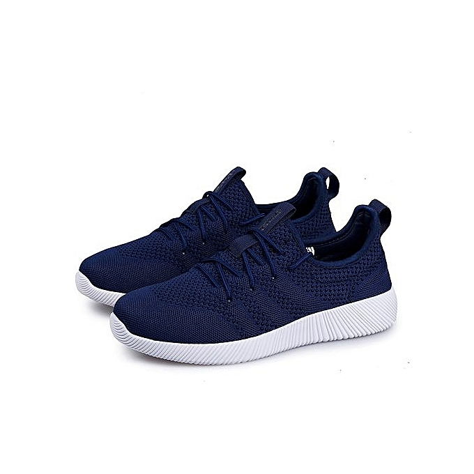 Fashion  s Flyknit Sport Shoes Running Shoes-Blue à prix prix prix pas cher  | Jumia Maroc 8ac7d1