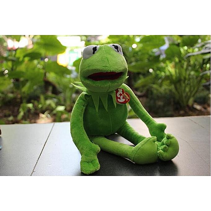 Autre Hot Sale 40cm Kermit Plush Toys Sesame rue Doll Stuffed Animal Kermit Toy Plush Frog Doll(40cm frog) à prix pas cher