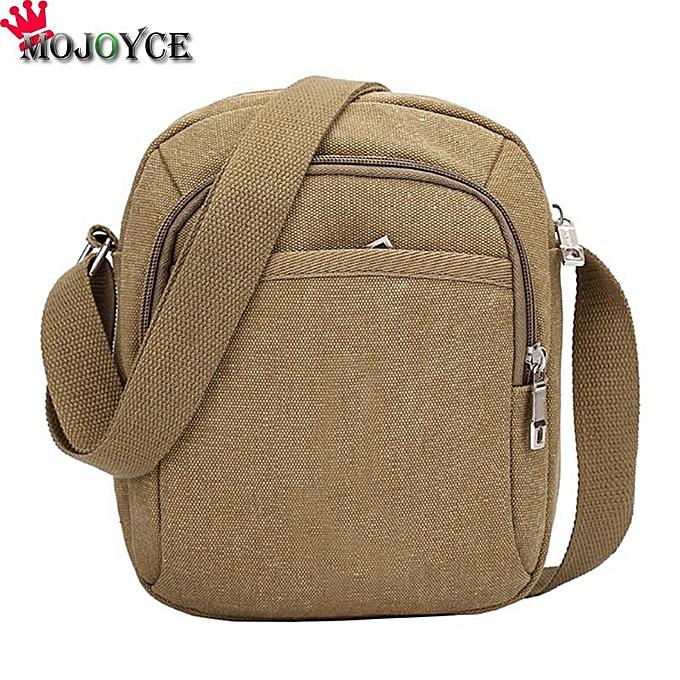 Other Men Shoulder Crossbody Bag Canvas Handbag Male Multifunction Travel Crossbody Sling Designers Brand Messenger Bags(C) à prix pas cher