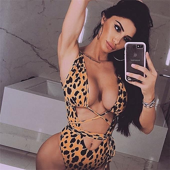 Autre Sexy Hot Leopard Bikini femmes maillot de bain 2019 maillot de bain Printed Bathing Suit Biquini Bikinis Set Swim Suit Maillot De Bain Femme JY-M( A992) à prix pas cher