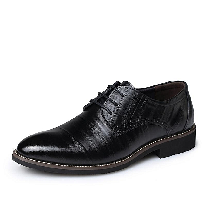 Fashion New European Style Faux oxfords Leather Business  's oxfords Faux Casual Dress Shoes-EU à prix pas cher  | Jumia Maroc c08e6e