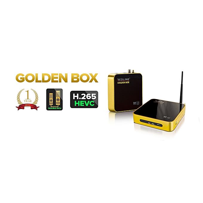 RedLine Golden Box HD HEVC/H 265