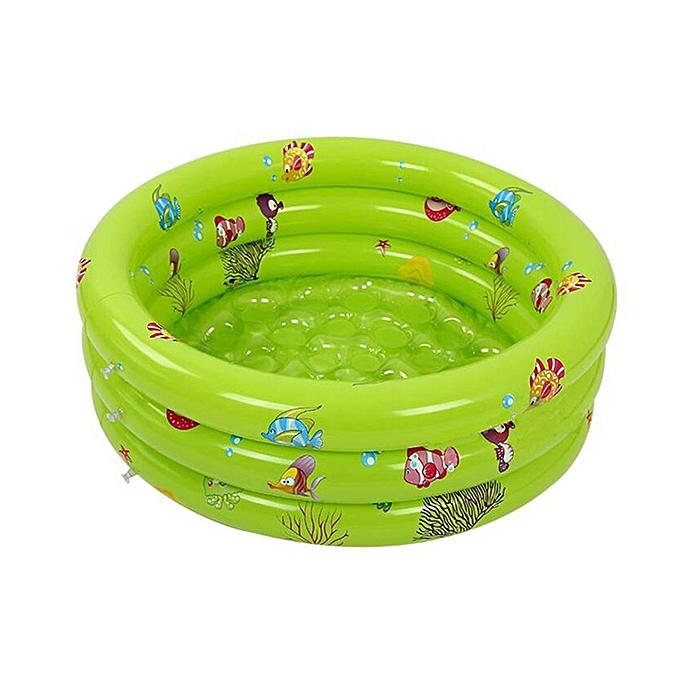 UNIVERSAL 3-sacue Enfants   Inflatable Swimming Pool Bathtub Paddling Swim Tub plage BIBA31   vert à prix pas cher