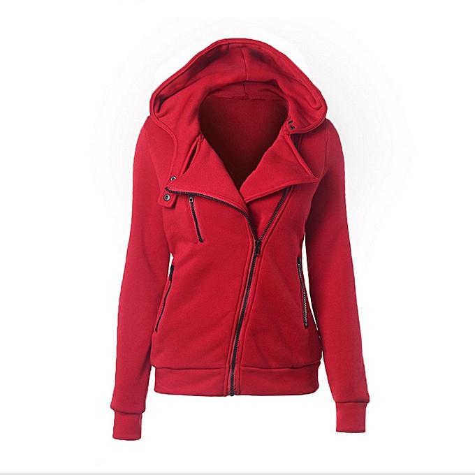 Fashion Fashion femmes Hoodie Sweatshirt Casual Hooded Warm Sweatshirt Casual RD L à prix pas cher