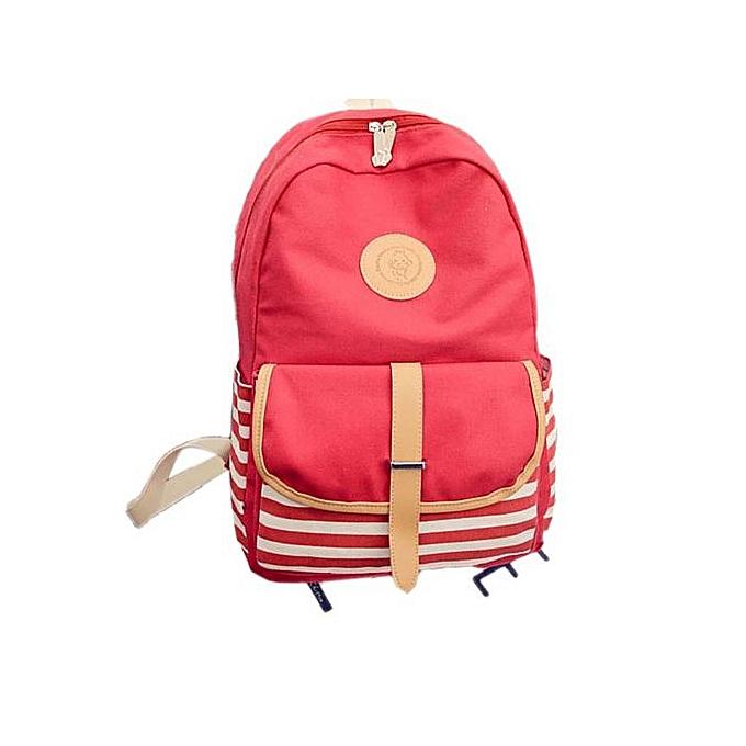 Fashion Correponde femmes Canvas Travel Satchel Shoulder Bag Backpack à prix pas cher