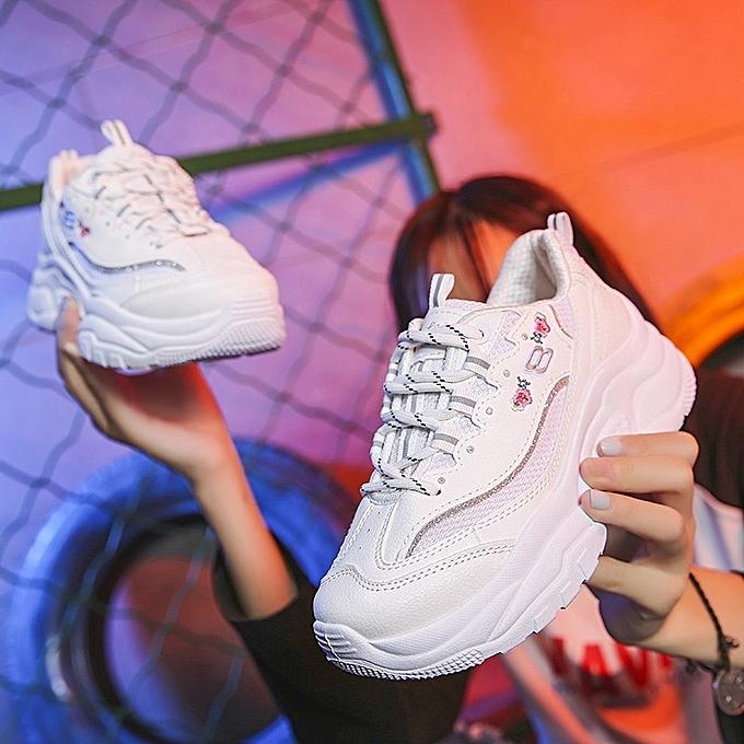 Autre Stylish Ins Popular WoHommes  White Sports Sports White Shoes à prix pas cher  | Jumia Maroc ec7af8