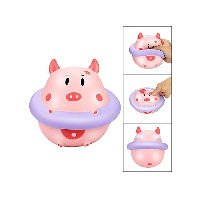 Generic Hiamok Squishies Cute Swim Ring Piggy Angel Slow Rising Kawaii Scented Soft Squeeze Toy à prix pas cher