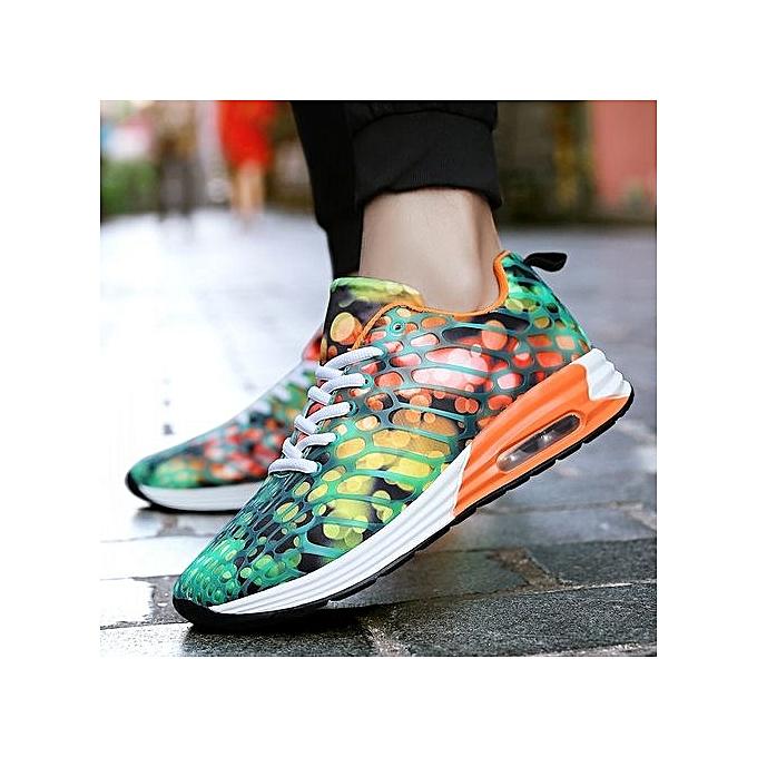 HT Wo  Sneaker Air-cushion Sports Shoes Fashion Fashion Fashion Running Shoes-Orange à prix pas cher  | Jumia Maroc ecad34