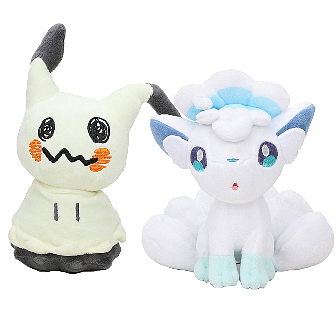 Autre 20cm Pocket Plush Sun & Moon Starter Animal Mimikyu Litten Rowlet Popplio Alola Vulpix Plush Toys Soft Stuffed Doll Gift(Rowlet) à prix pas cher