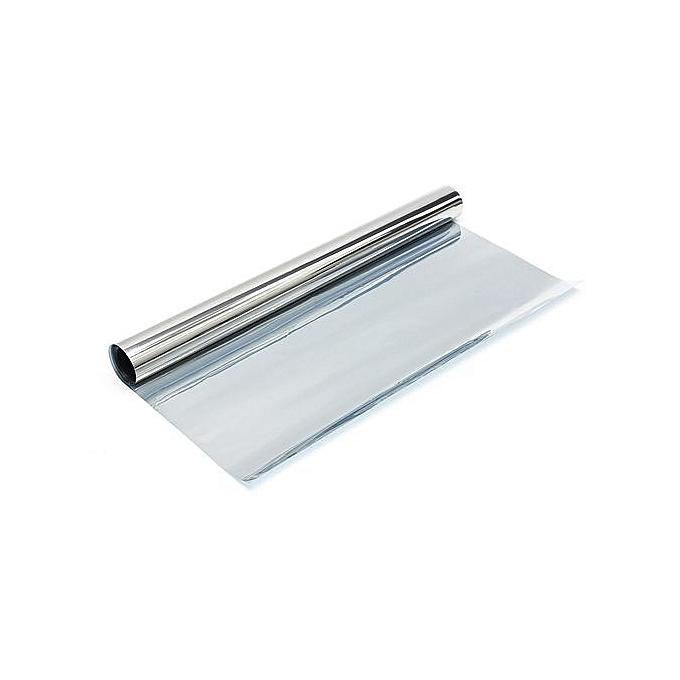 UNIVERSAL 311436516704 20''X10FT Solar Reflective One Way Mirror Privacy Window Film Insulation Stickers à prix pas cher